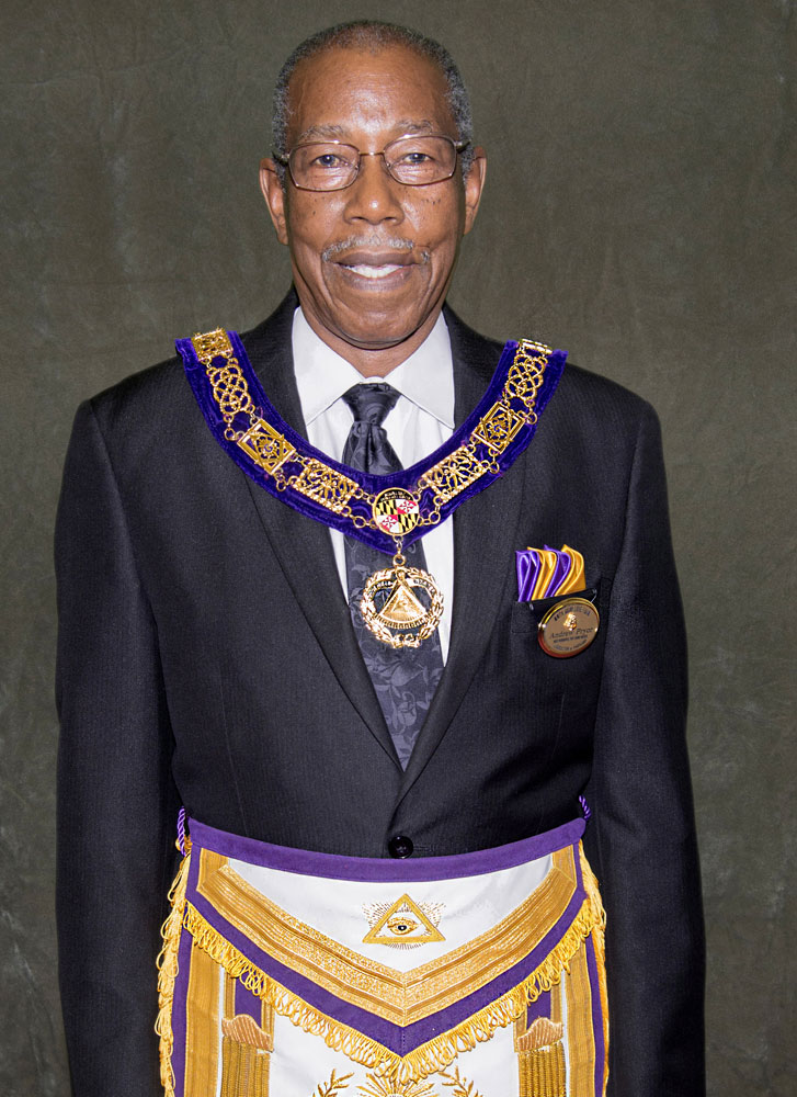 M.W. Past Grand Master Andrew Pryor